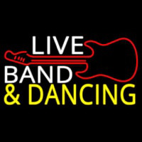 Live Bands Neon Sign