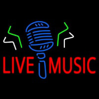 Live Music Mike Neon Sign