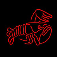 Lobster Logo Red 1 Neon Sign