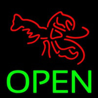 Lobster Open 1 Neon Sign
