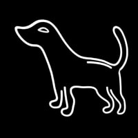 Logo Dog Neon Sign