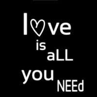 Love Is All You Neon Sign