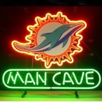 Miami Dolphin Man Cave Neon Sign