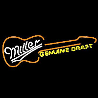 Miller Country Guitar Beer Sign Neon Sign