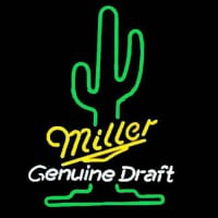 Miller Genuine Draft Beer Neon Sign