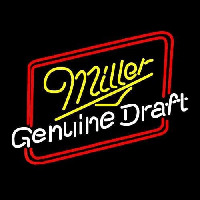 Miller Genuine Draft Hollywood Beer Sign Neon Sign