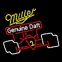 Miller Race Car Beer Sign Neon Sign