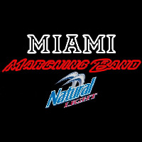 Natural Light Miami University Band Board Beer Sign Neon Sign