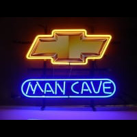 New Chevrolet Chevy Man Cave Neon Sign