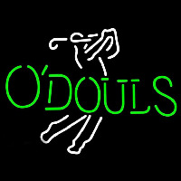 Odouls Golfer Beer Sign Neon Sign