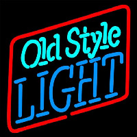 Old Style Light Beer Sign Neon Sign