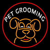 Pet Grooming Phone Number 1 Neon Sign