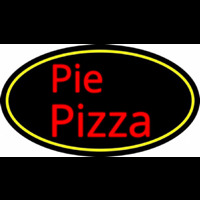 Pie Pizza Neon Sign