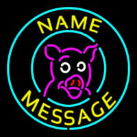 Pig Neon Sign