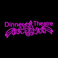 Pink Dinner Theatre Neon Sign