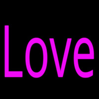Pink Love Neon Sign