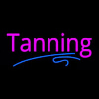 Pink Tanning Neon Sign
