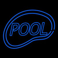 Pool Swimming Neon Sign