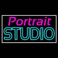 Portrait Studio Neon Sign