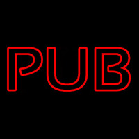 Pub Red Neon Sign