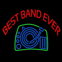 Red Best Band Ever Neon Sign
