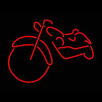 Red Bike Logo Neon Sign