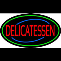 Red Delicatessen Neon Sign