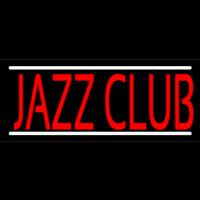 Red Jazz Club Neon Sign