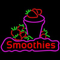 Red Smoothies Neon Sign