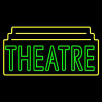 Red Theatre Neon Sign