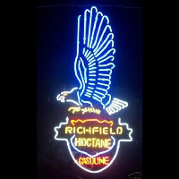 Richfield Hi Octane Gasoline Neon Sign