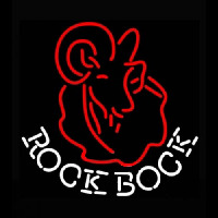 Rolling Rock Bock Neon Sign