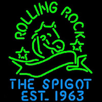 Rolling Rock The Spigot Beer Neon Sign