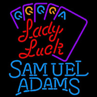 Samuel Adams Lady Luck Series Beer Sign Neon Sign