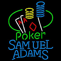 Samuel Adams Poker Ace Coin Table Beer Sign Neon Sign