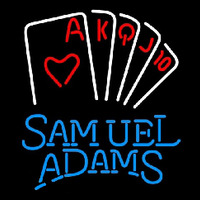 Samuel Adams Poker Series Beer Sign Neon Sign
