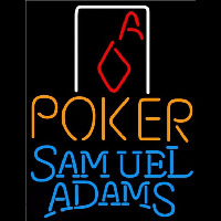 Samuel Adams Poker Squver Ace Beer Sign Neon Sign