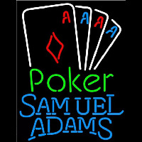 Samuel Adams Poker Tournament Beer Sign Neon Sign
