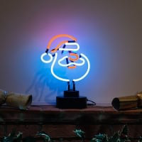Santa Desktop Neon Sign
