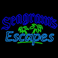 Seagrams Escapes Wine Coolers Beer Sign Neon Sign