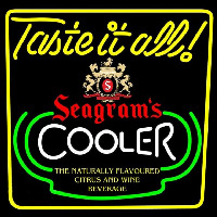Seagrams Swagjuice Wine Coolers Beer Sign Neon Sign