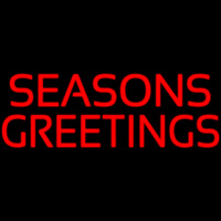 Seasons Greeting Neon Sign