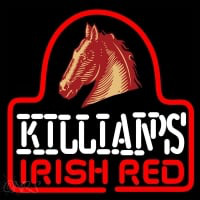 Sgeorge Killians Irish Red Horse Head Beer Sign Neon Sign