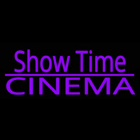 Showtime Cinema Neon Sign