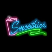 Smoothies Cup Neon Sign