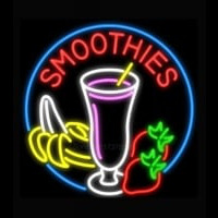 Smoothies with Fruit Neon Sign