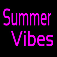 Summer Vibes Neon Sign
