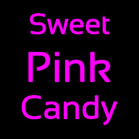 Sweet Pink Candy Neon Sign