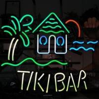 TIKI BAR TROPICAL Neon Sign