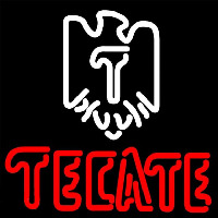 Tecate Eagle Logo Beer Sign Neon Sign